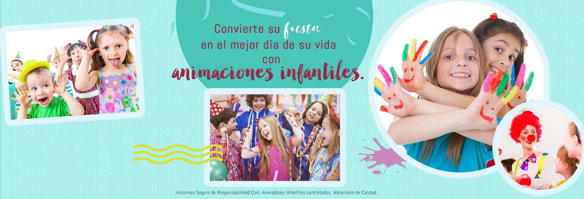 animaciones infantiles en castellon para celebraciones de fiestas de cumpleaños y comuniones con niños. Actividades, juegos, hichables, payasos, magos y animadores